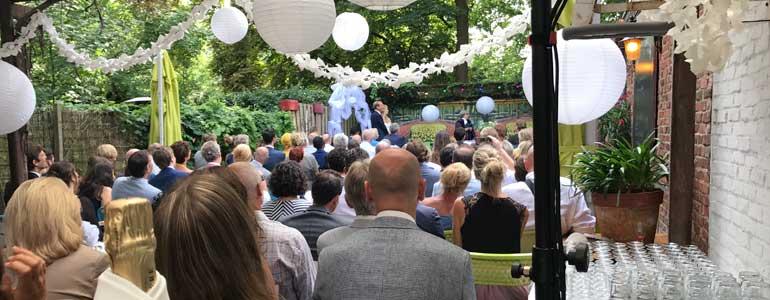 bruiloft den haag