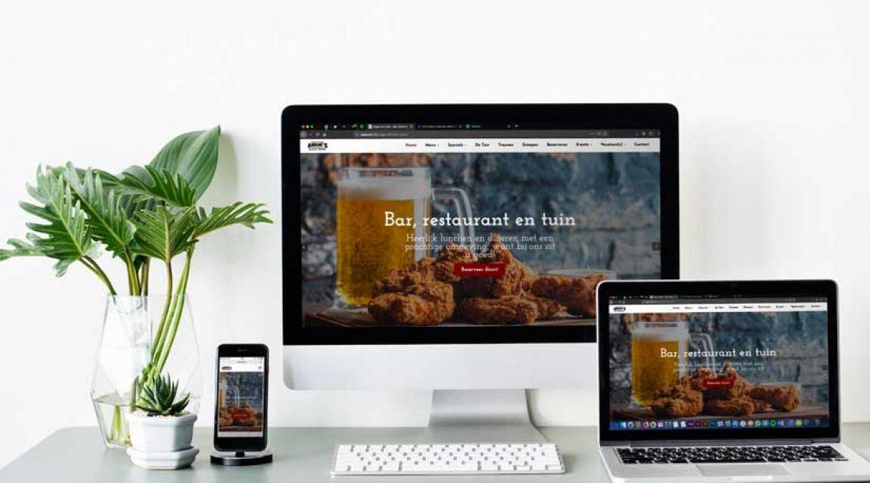 """Nieuwe website """"Online"""""""